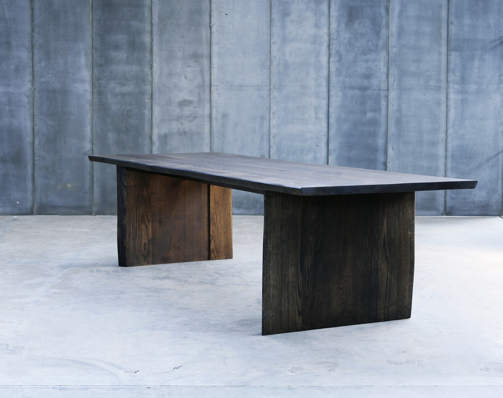Altar Table Made To Measure In Blackened French Oak By Heerens