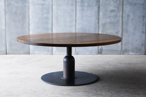 Apollo XXL table - made to measure in African walnut by Heerenhuis