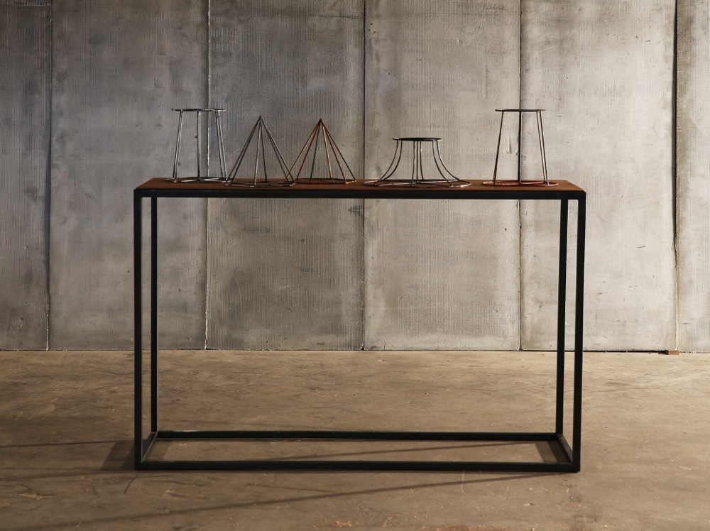 Mesa Leather console by Heerenhuis