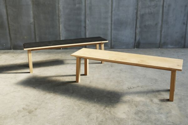 Bench - made to measure in French Oak by Heerenhuis