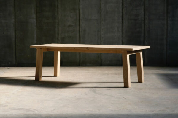 SPO table in French oak by Heerenhuis