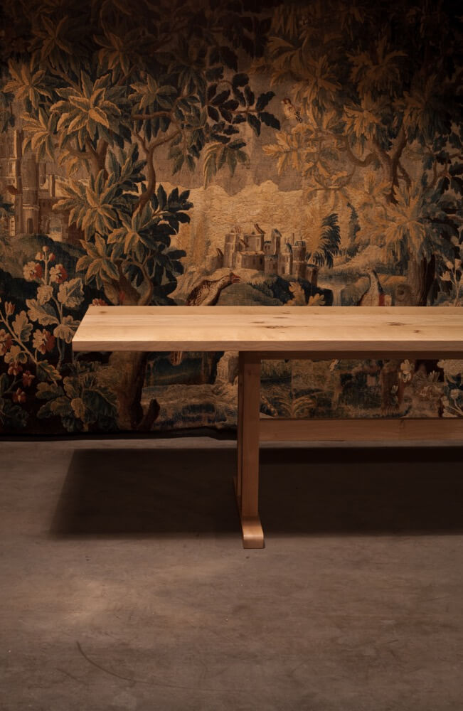 Trappist table – made to measure in French Oak by Heerenhuis at Different Like a Zoo
