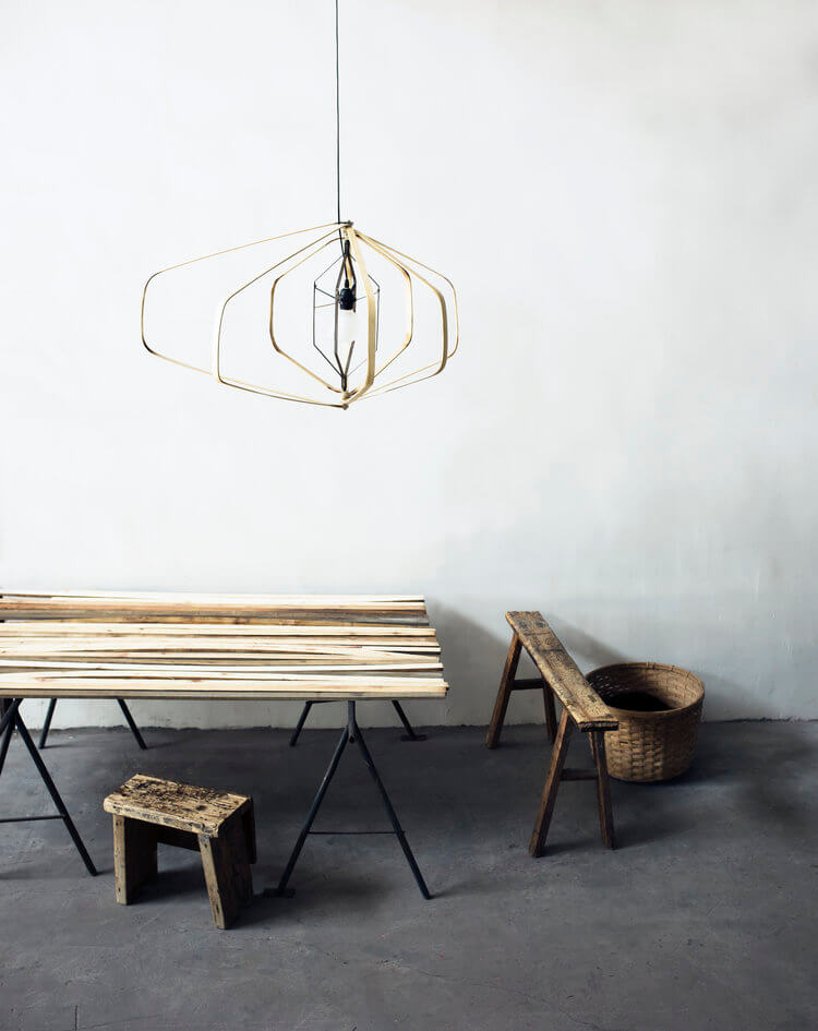 Mogu light designed by Ay Illuminate for Heerenhuis at Different Like a Zoo