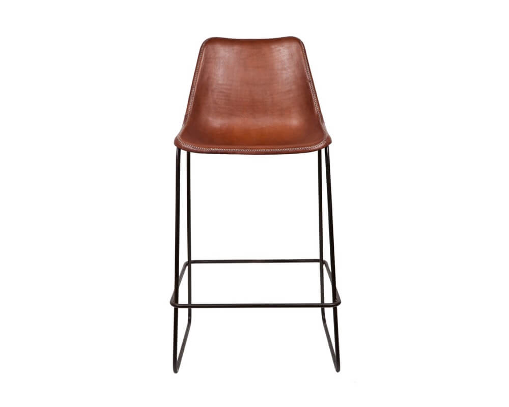 Giron bar stool by sol luna different like a zoo for Orange bar stools ikea