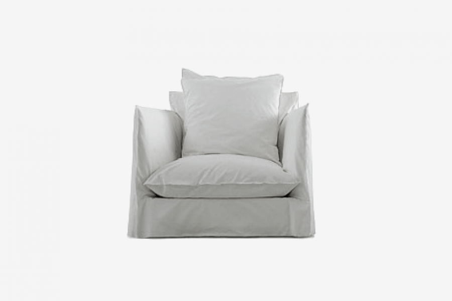 Ghost 01 armchair: a one seater designed by Paola Navone for Gervasoni at Different Like a Zoo