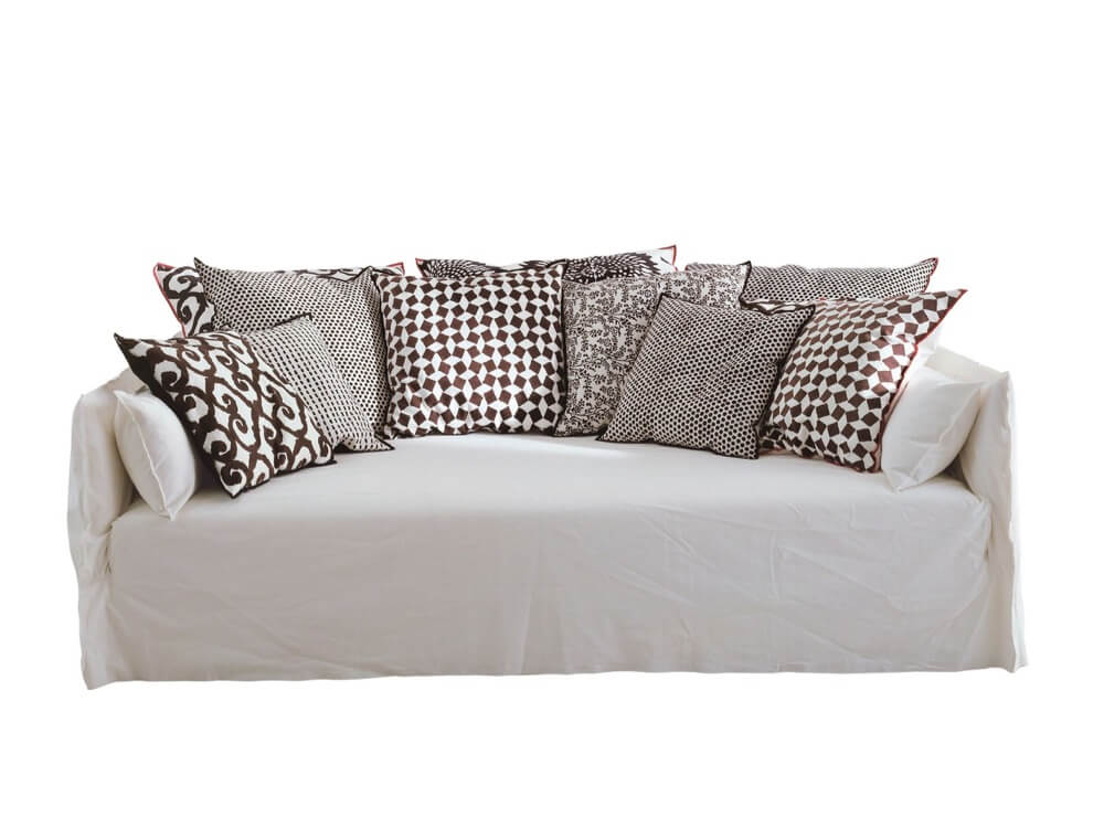 ghost 16 sofa by Paola Navone for Gervasoni