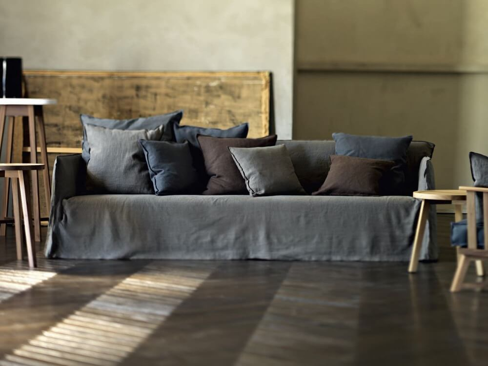 Ghost 14 Sofa A Five Seater Designed By Paola Navone For Gervasoni