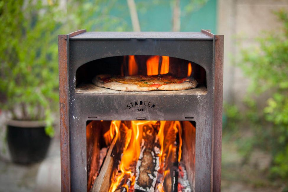 Outdoor Oven & Pizza Peel by Stadler-Made-138