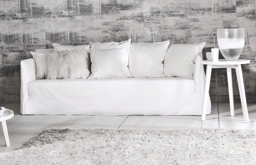 Ghost sofa designed by Paola Navone for Gervasoni