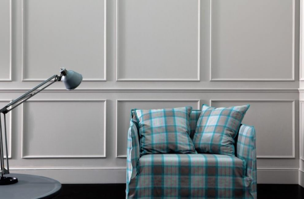 Ghost 09 love seat:  a two seater sofa designed by Paola Navone for Gervasoni