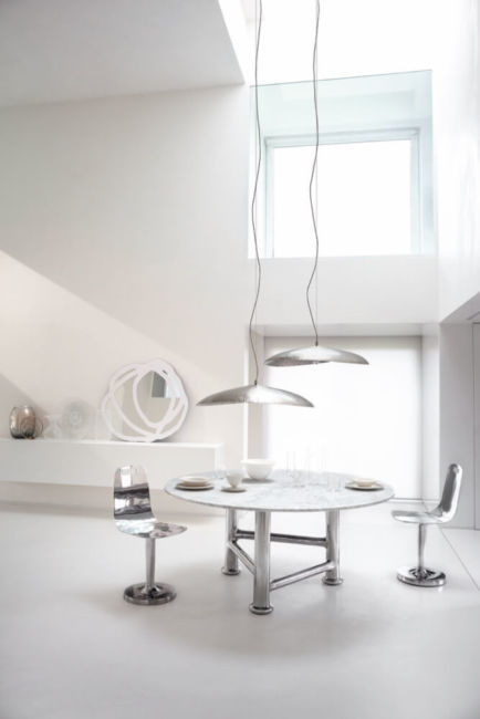 Silver 95 / Silver 96 pendant light by Gervasoni