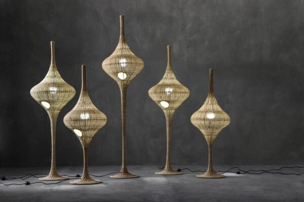 Spin - floor standing lamps by Gervasoni