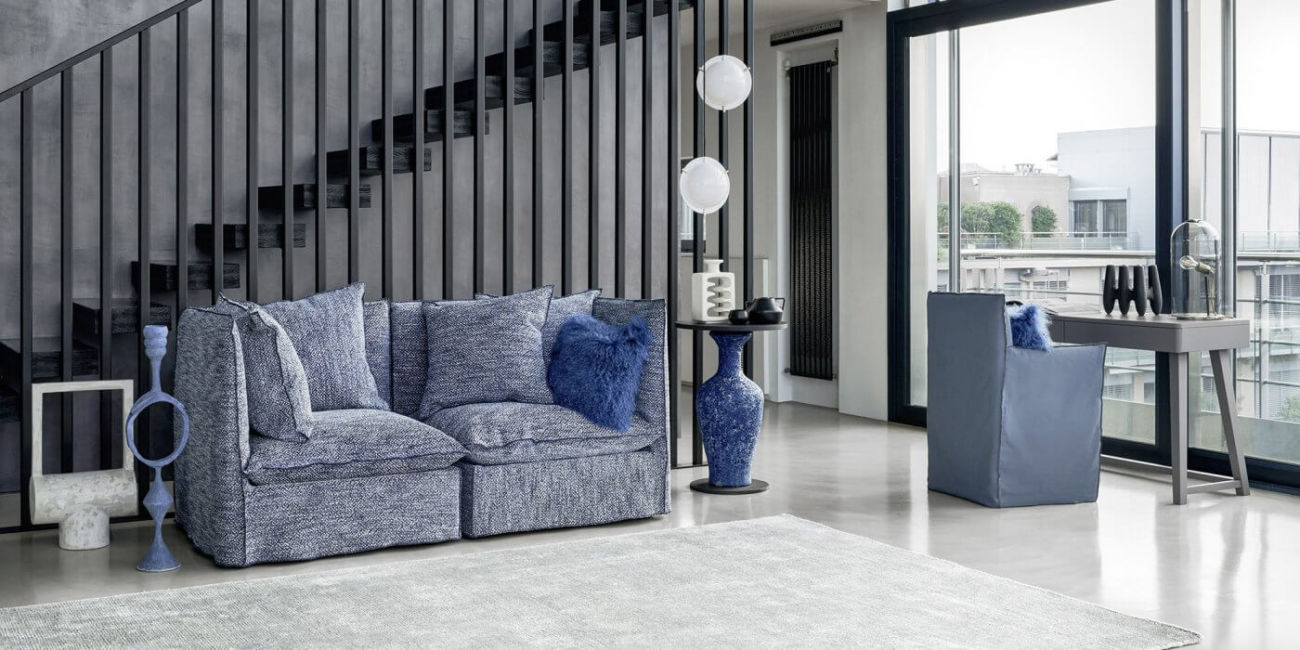 Ghost 24 armchair: designed by Paola Navone for Gervasoni