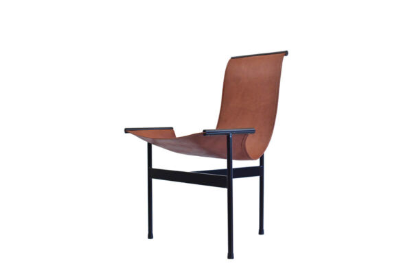 Tobatí lounge chair in natural leather by Sol & Luna