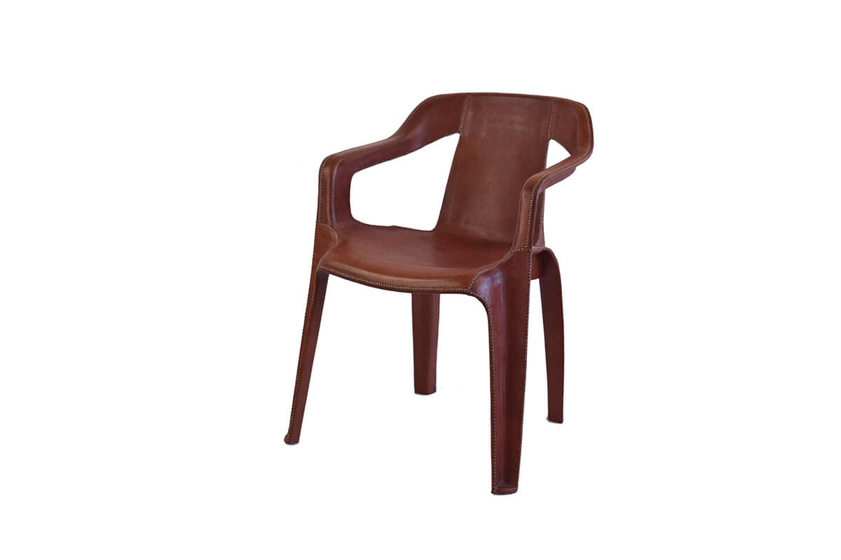 4 PN912 Armchair CheapChic Semiside Brown BAJA 800x800 1