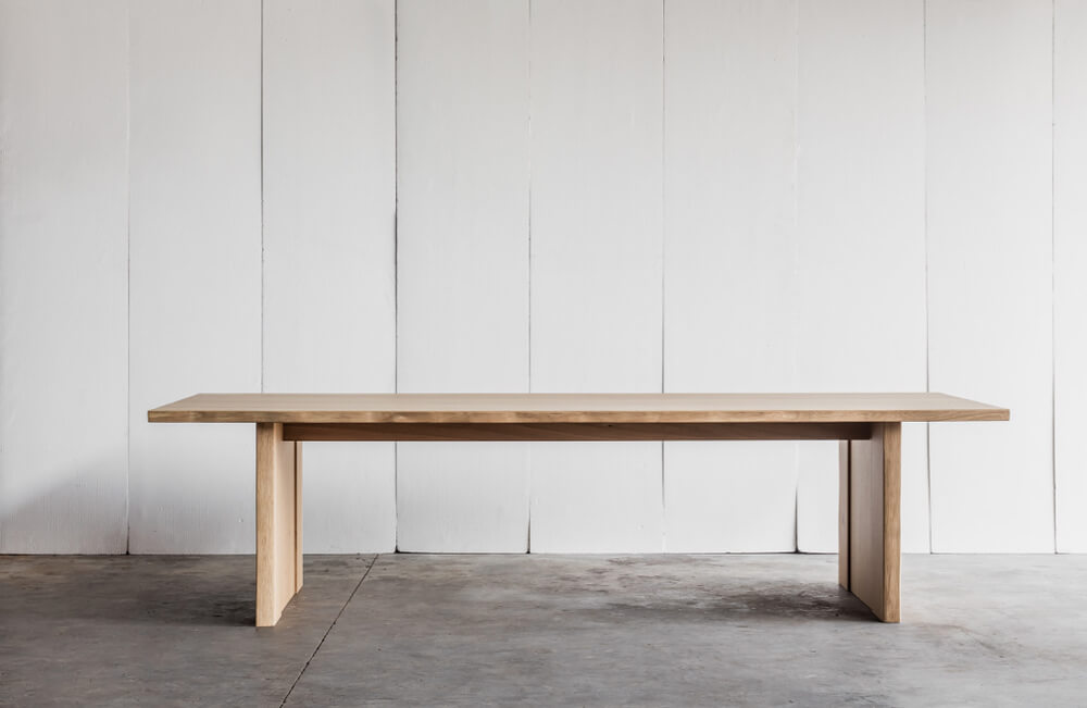 Altar table made in French oak by Heerenhuis