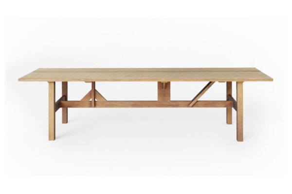 Louza table for indoors/outdoors - made to measure in fraké by Heerenhuis