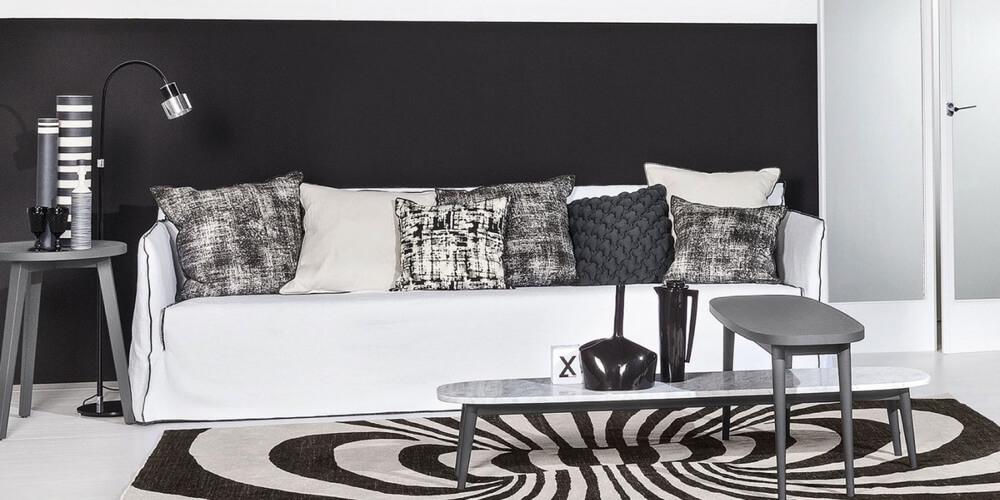 Ghost 14 sofa – a five seater by Gervasoni