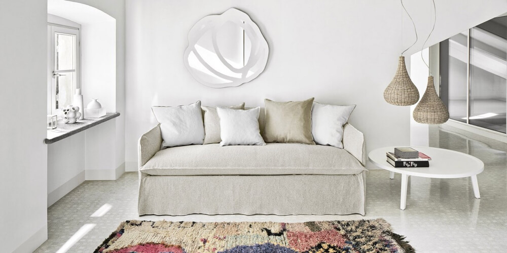 Ghost 15 - a king size sofabed by Gervasoni