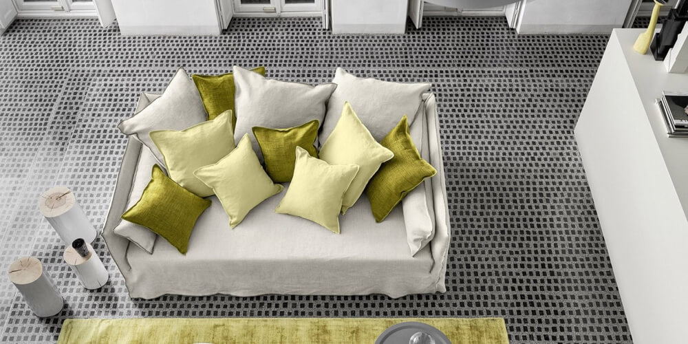 Ghost 16 sofa - an extra deep seater by Gervasoni