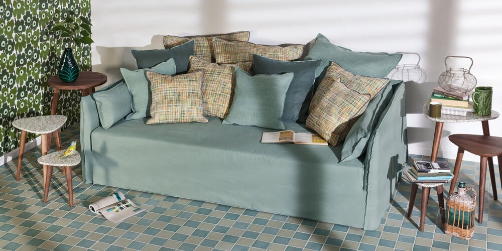 Ghost 16 sofa – an extra deep seater by Gervasoni