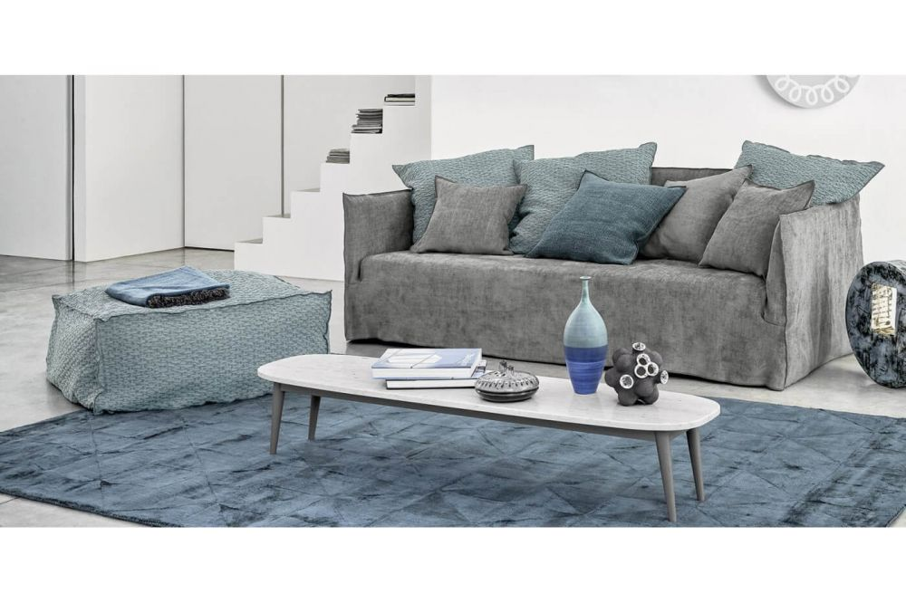 Ghost 112 sofa - a deep four seater by Gervasoni